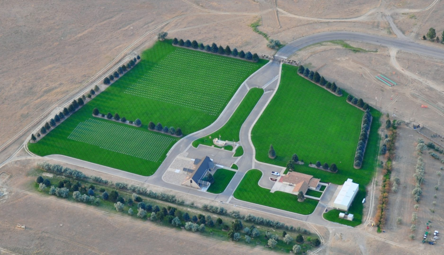 Image of Oregon Trail State Veterans Cemetery 1